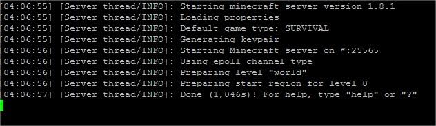 Minecraft console