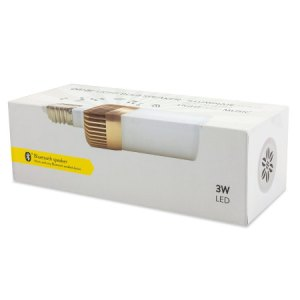 Test de l'ampoule LED avec enceinte bluetooth OLIXAR
