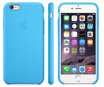 Test de la coque en silicone officielle d'Apple pour iPhone 6