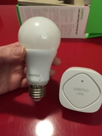 Test des Wemo Smart LED de Belkin