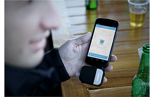 Test de l'Éthylotest Connecté : Alcohoot Breathalyzer
