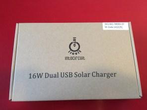 Test du chargeur solaire pliable Intocircuit avec double sorties USB