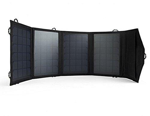 Test du chargeur solaire pliable Intocircuit avec deux sorties USB