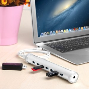 Test du Hub USB type C vers USB 3 d'Aukey