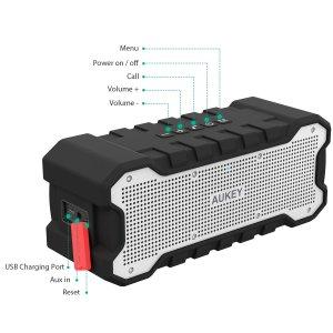 Test de l'enceinte Bluetooth étanche SoundTank d'Aukey