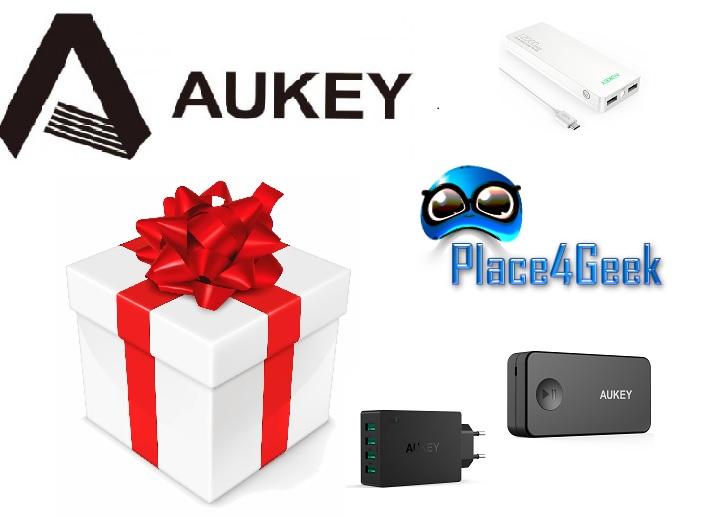 Concours viens tenter de gagner des produits Aukey !