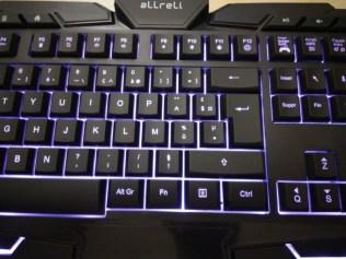 Test du clavier gaming USB aLLreLi K617