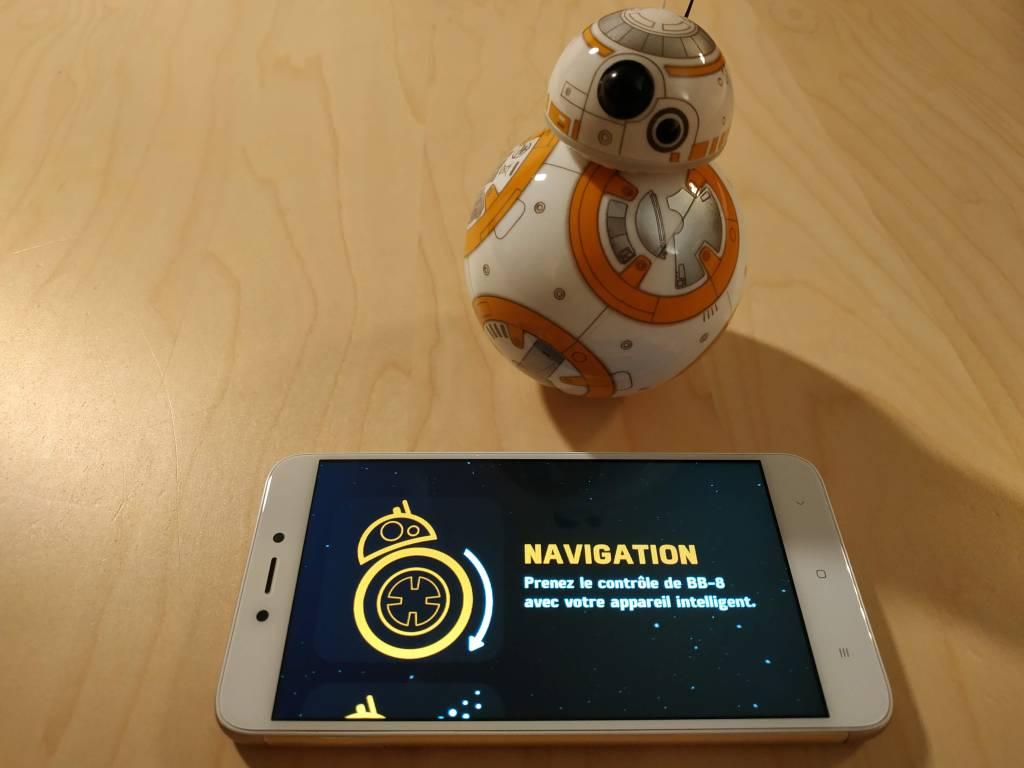 Test du robot connecté Sphero Star Wars BB-8