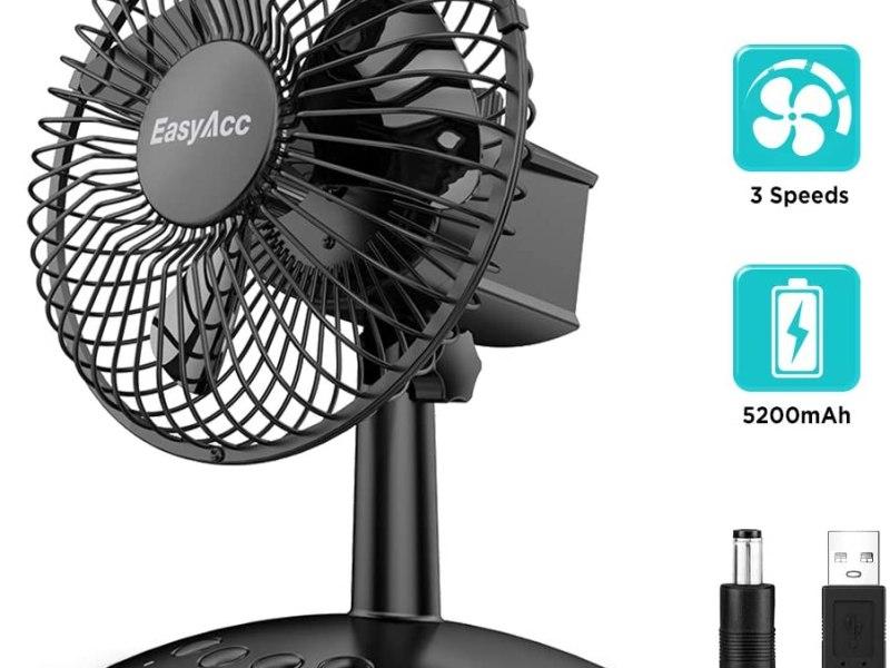 Test du ventilateur de table USB EasyAcc