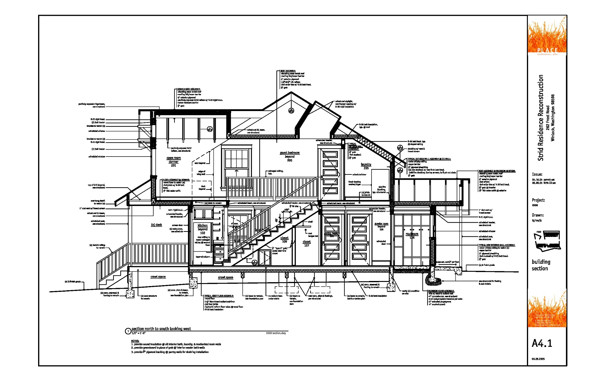 Architect Drawings Modern House