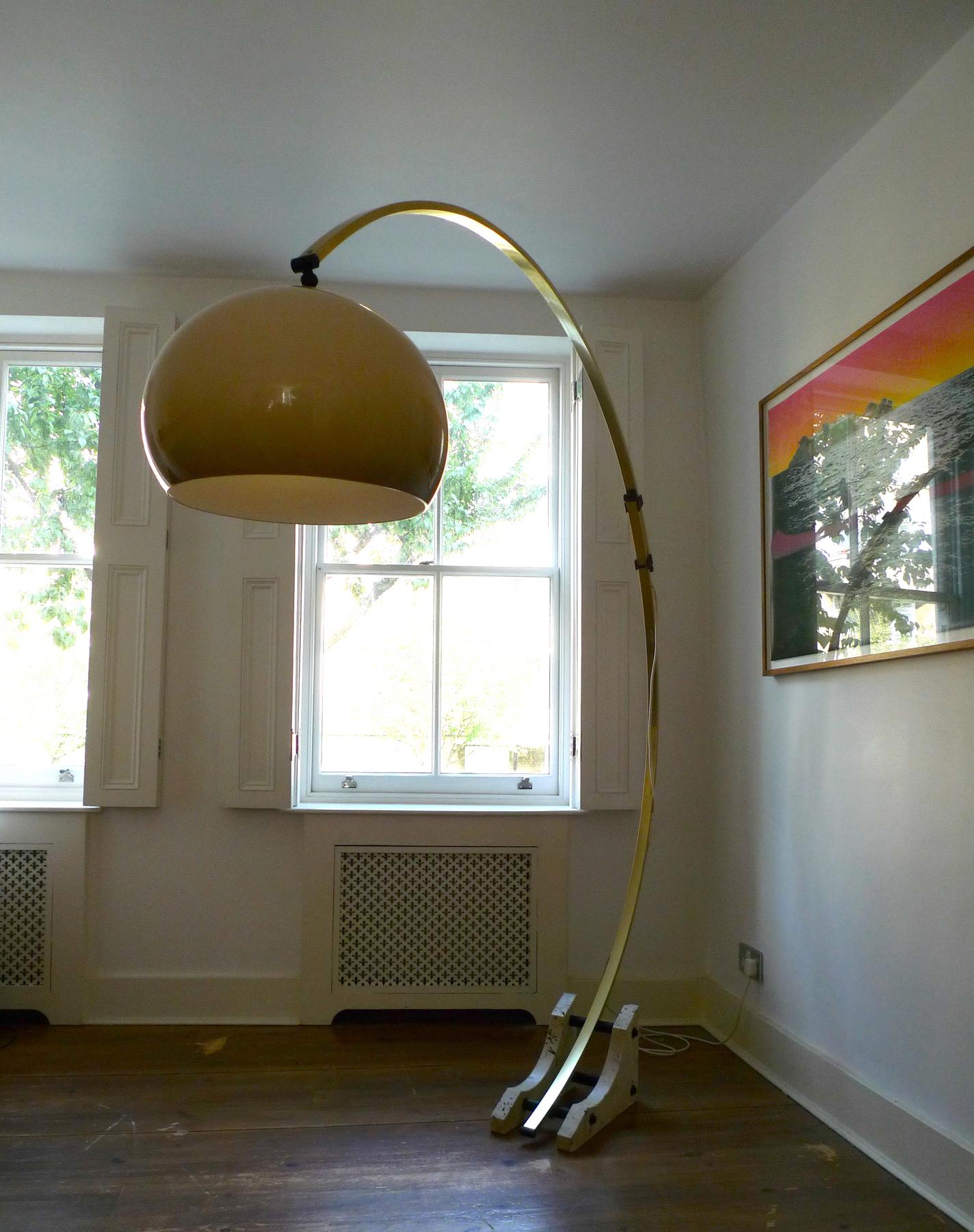 Vintage 1970's Italian Mushroom Arc Floor Lamp | | PLACE ...