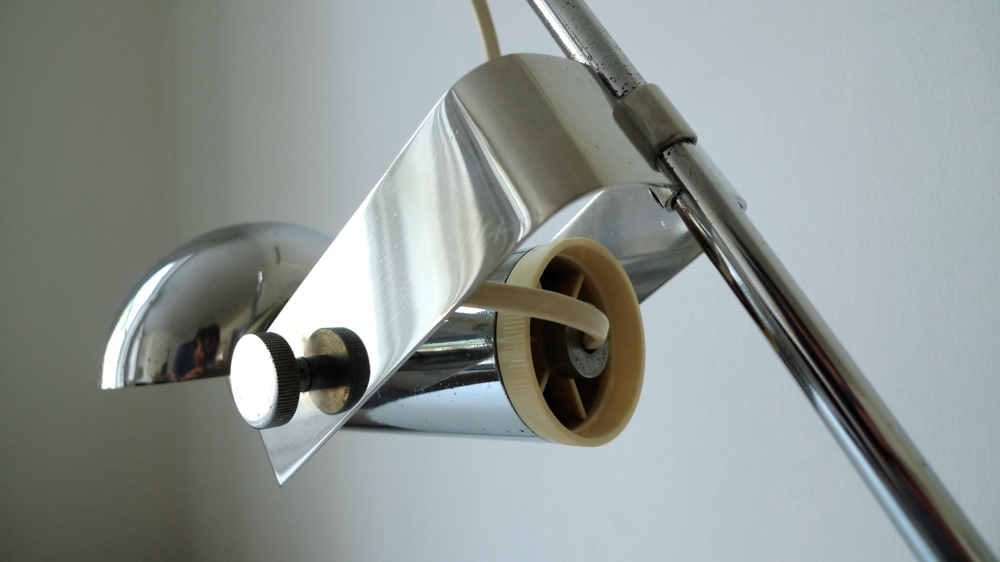 Robert Sonneman T395 Lamp For Luci Cinisello C 1970