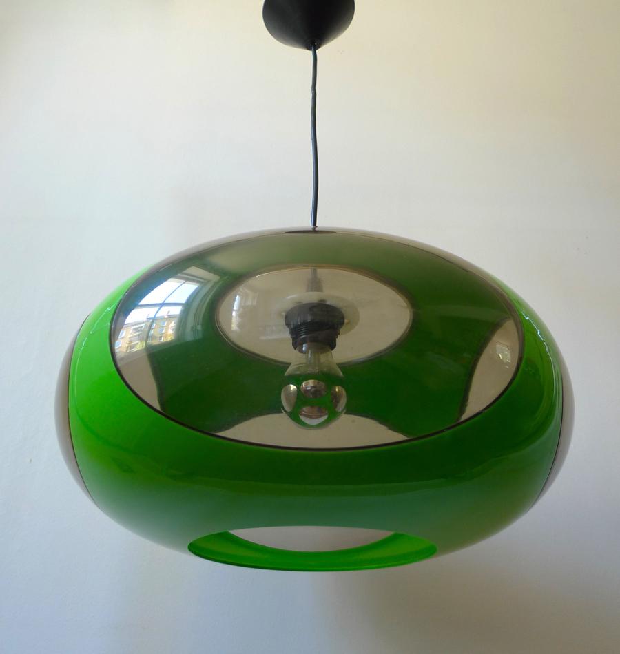 luigi colani ufo pendant light place called space. Black Bedroom Furniture Sets. Home Design Ideas