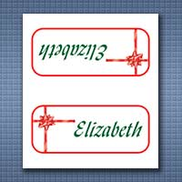 Place Card Templates For Christmas Great Family Gatherings