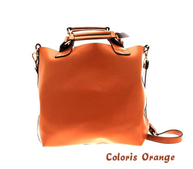 place du bonheur jean louis scherrer lot de 2 sacs a main special fete des meres kate orange ariel bleu 39 90
