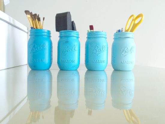 Painted Jars 2