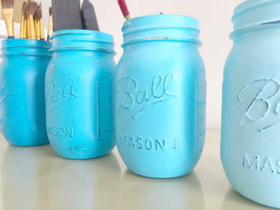 Painted Jars 3