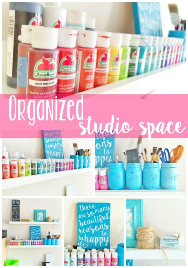Organized Studio Space