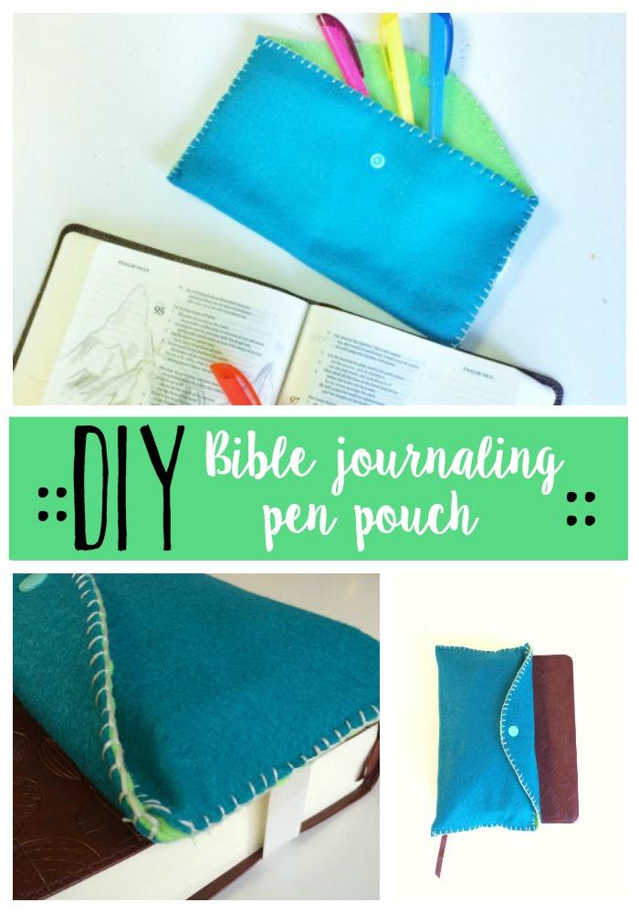 DIY Penpencil pouch