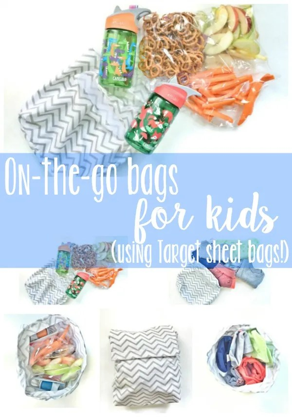 Target Sheet On-the-go Bags for Kids!