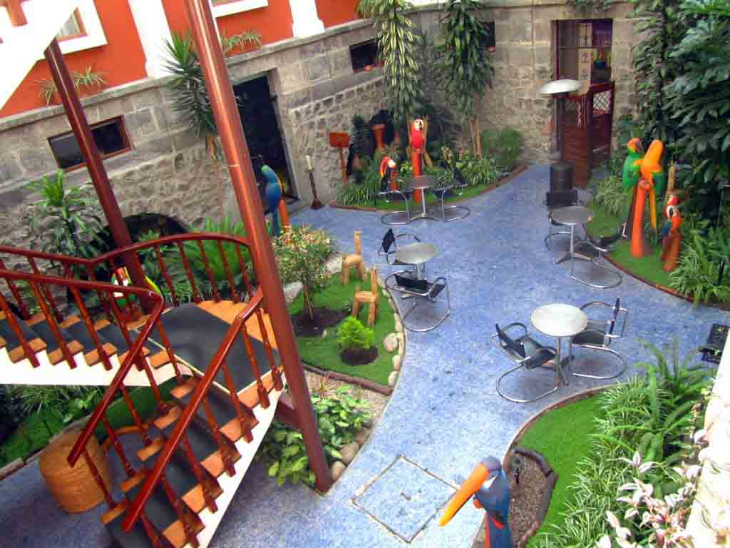 Hotel Patio Andaluz Quito Ecuador