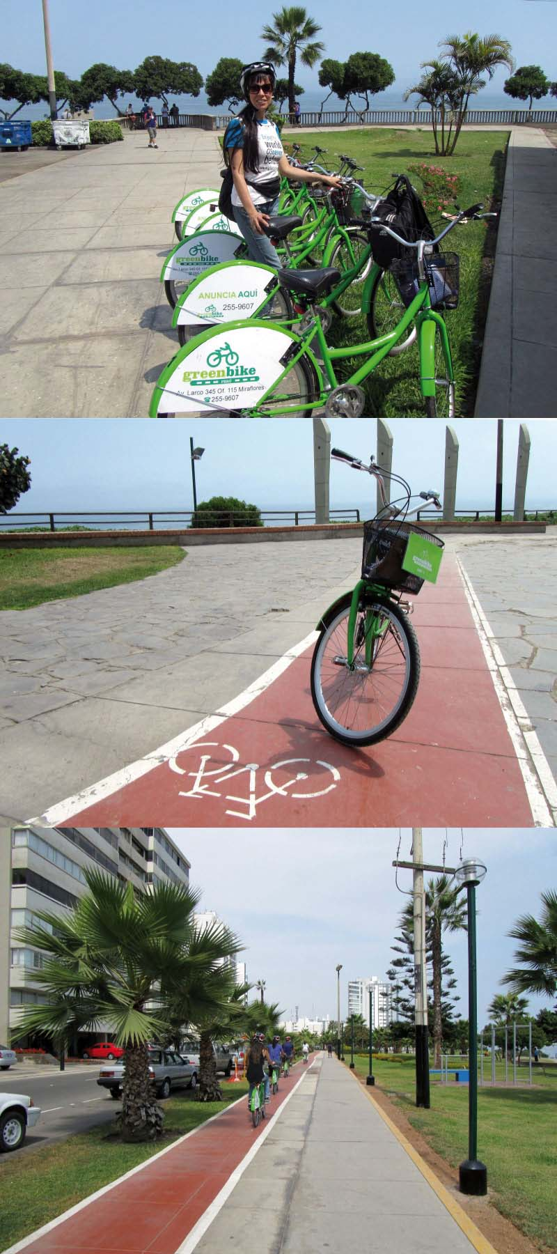 biking in lima