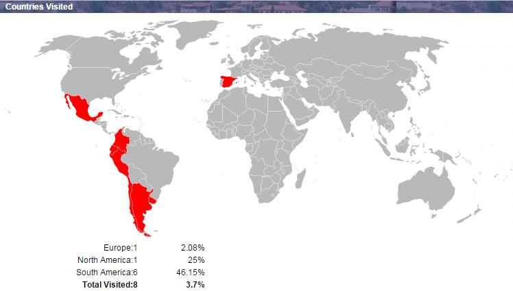 Mapa Mundo 2015