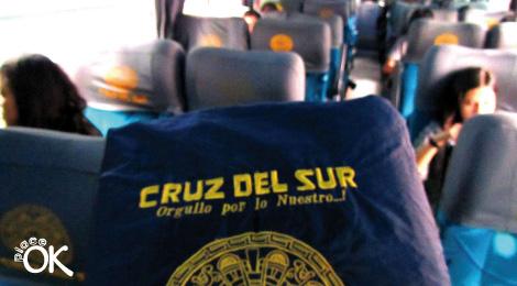 viajando en bus por peru