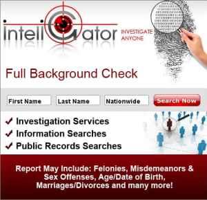 full background check