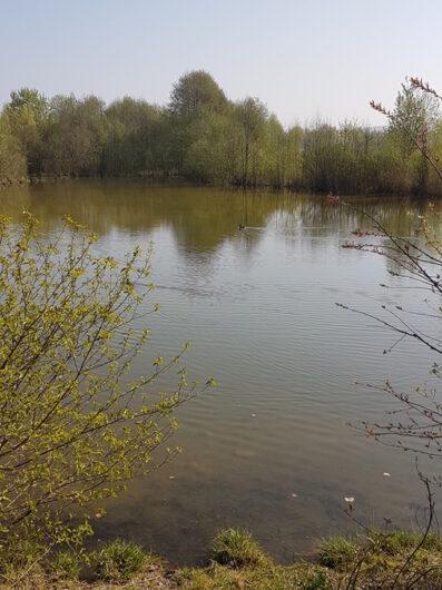 idyllischer See im Marienfeld
