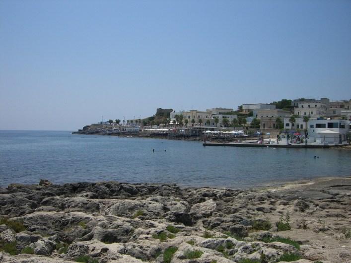 Blick auf einen Teil von Santa Maria di Leuca