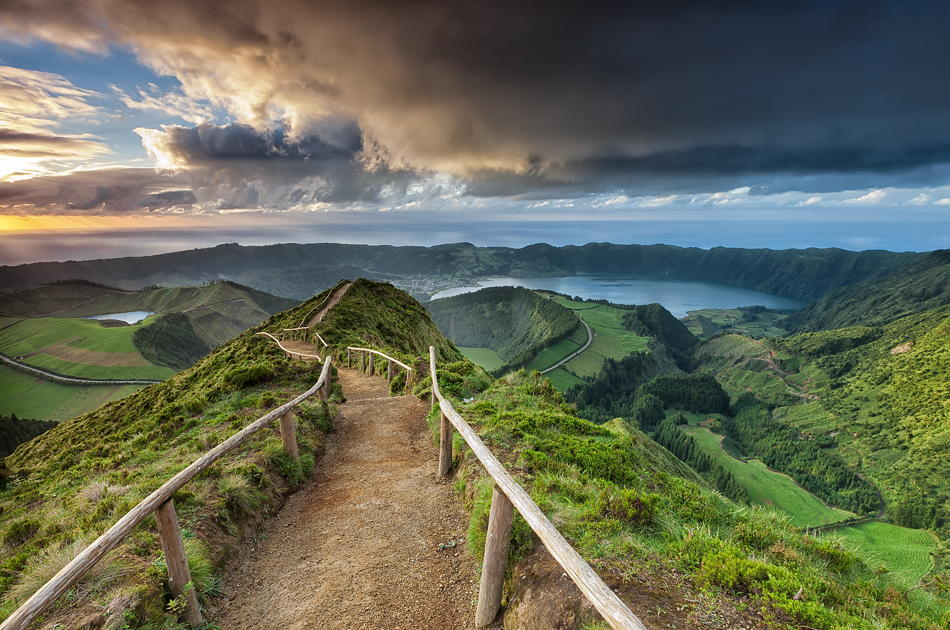 Striking Unspoiled Nature in the Azores, Portugal