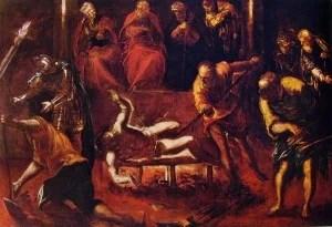 Tintoretto martirio di San Lorenzo