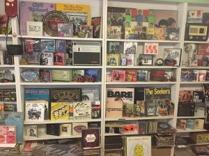 Rock in Box vinyl store Budapest