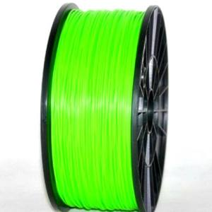 ABS 1.75mm 1KG 3D printer consumables clear green HIGH QUALITY GARANTITA SU MAKERBOT, MULTIMAKER, ULTIMAKER, REPRAP, PRUSA