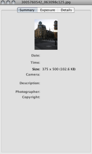 Facebook, Flickr Strip Copyright Data from Images Image