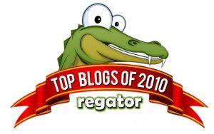 Regator Names Plagiarism Today Top 50 Blog of 2010 Image