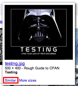 Google Similar Image Search