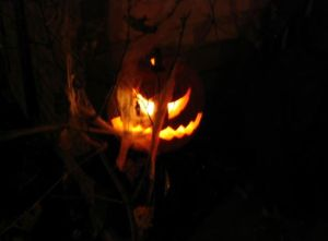 Creepy Pumpkin Image