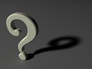 Dark Question Mark