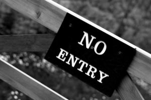 No Entry Image