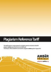 Looking at The AMBeR Benchmark Plagiarism Tariff Image