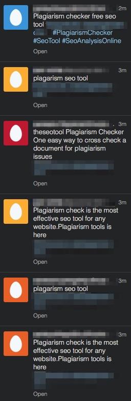 plagiarism-spam-twitter