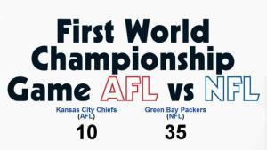 NFL AFL Score