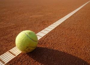 Boundary Tennis Ball Image