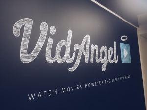 VidAngel Wall Logo