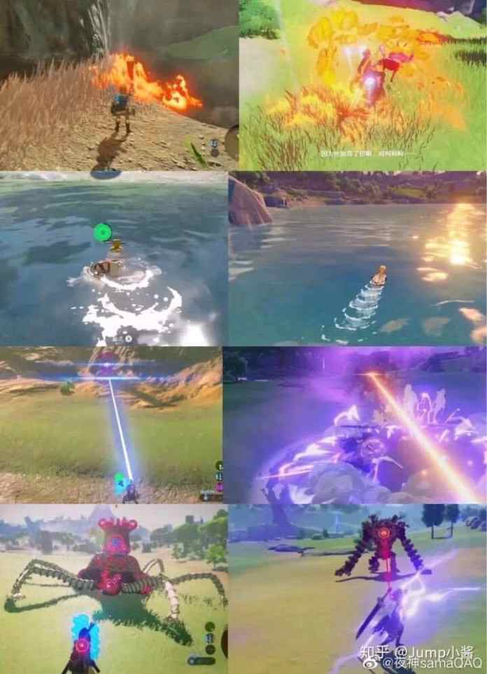 The Breath of the Wild Plagiarism Battle Image