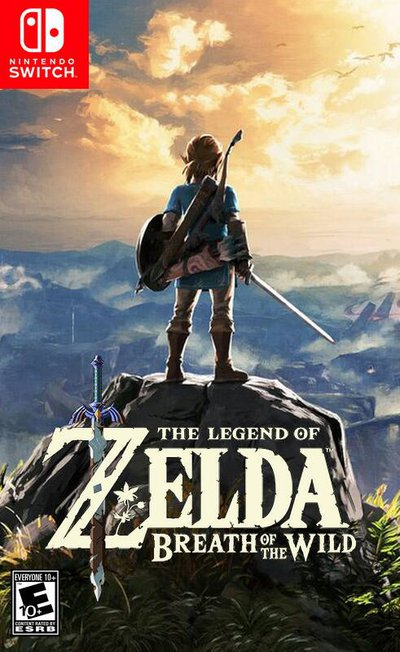 Breath of the Wild Cover