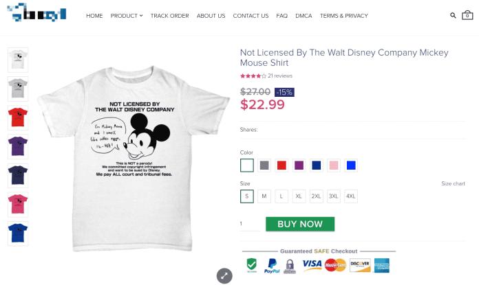 Battling the Copyright-Infringing T-Shirt Bots Image