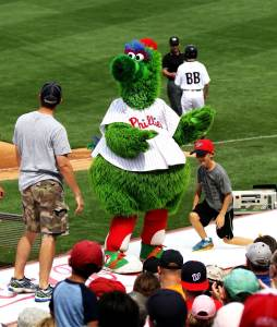 The Battle Over the Phillie Phanatic Image